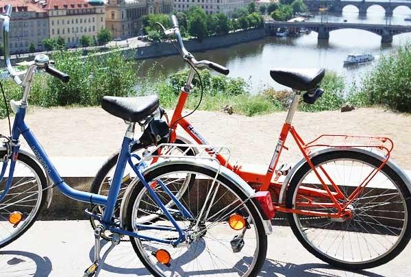 Tour bici Praga